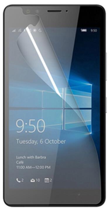 CELLY ochranná fólie displeje pro Microsoft Lumia 950, lesklá, 2ks