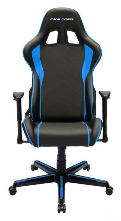DXRacer Formula OH/FL08/NB, černá/modrá