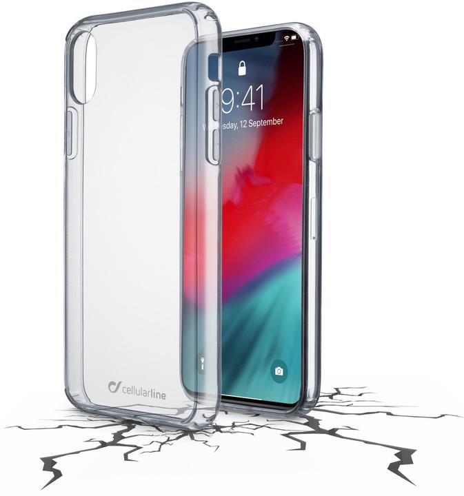 CELLULARLINE CLEAR DUO pro Apple iPhone Xr, čirý