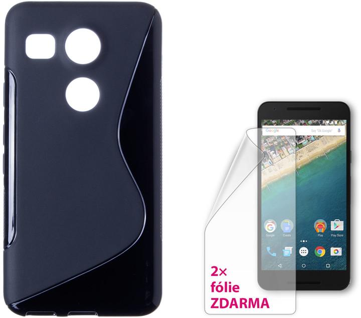 CONNECT IT S-COVER kryt pro LG Nexus 5X ČERNÉ