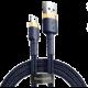 BASEUS kabel Cafule USB-A - Lightning, nabíjecí, datový, 1.5A, 2m, zlatá/modrá