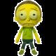 Plyšák Rick & Morty - Morty Toxic (Funko Galactic Plushies)