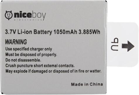 Niceboy náhradní baterie pro VEGA 4K, VEGA 5