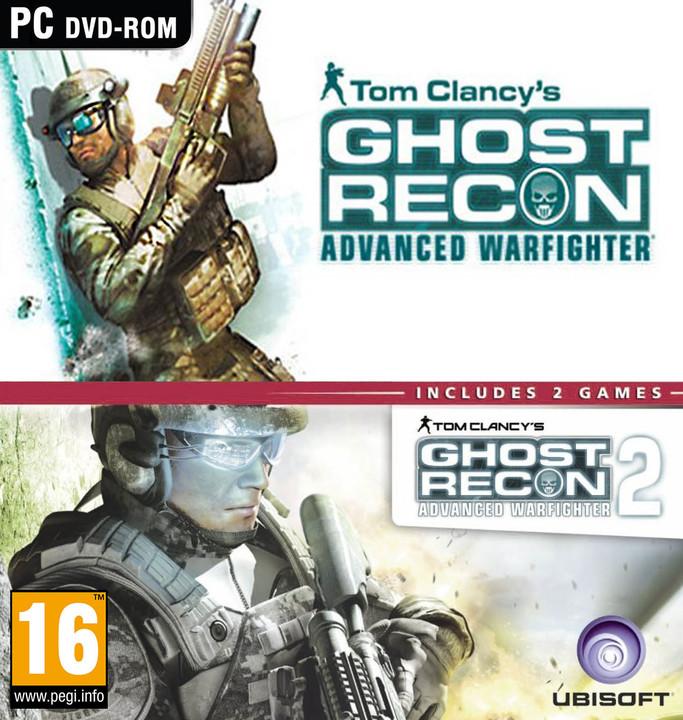 Tom Clancys Ghost Recon Advanced Warfighter 1 + 2 - Speciální kolekce (PC)
