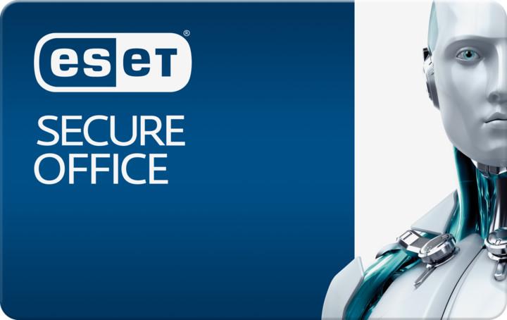 ESET Secure Office + pro 1PC na 24 měsíců (5-10)
