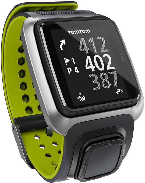 TOMTOM Golfer, šedá/zelená