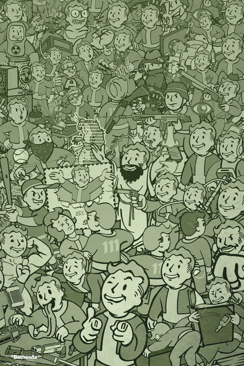 Plakát Fallout - Compilation