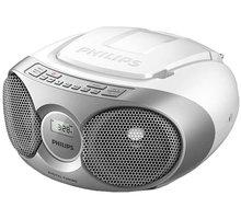 Philips AZ215, stříbrná - AZ215S/12
