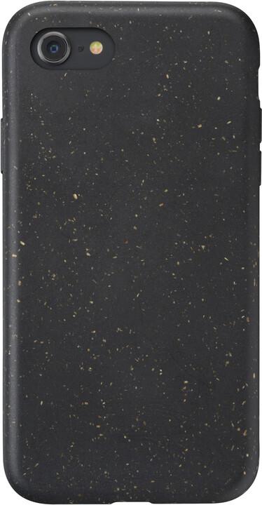 CellularLine kompostovatelný eko kryt Become pro Apple iPhone SE (2020), černá