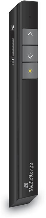 MediaRange 3-Button, černá
