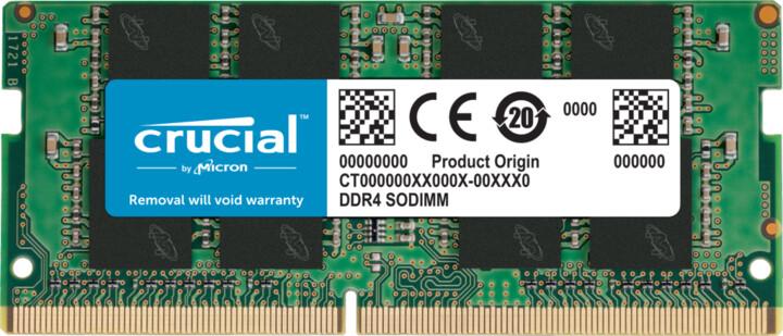 Crucial 16GB DDR4 2666 CL19 SO-DIMM