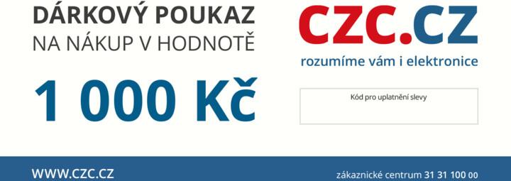 Dárkový poukaz CZC.cz 1000Kč