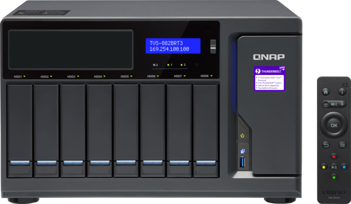 QNAP TVS-882BRT3-i5-16G