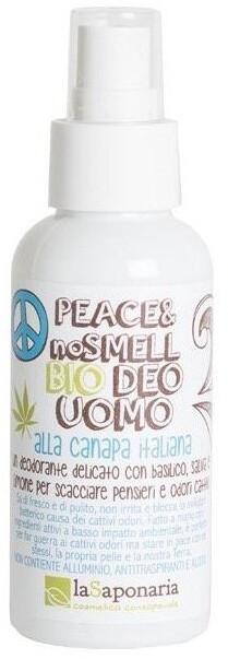 Deodorant laSaponaria, pro muže, konopný, bio, 100 ml