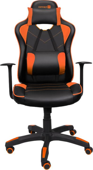 CONNECT IT LeMans Pro, černá/oranžová