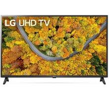 LG 43UP7500 - 108cm - 43UP75003LF + Google Home mini, černá v hodnotě 1390 Kč
