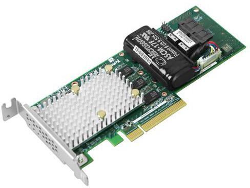 Microsemi Adaptec řadič SmartRAID 3162-8i Single, 12Gbps SAS/SATA 8 portů int., 2GB