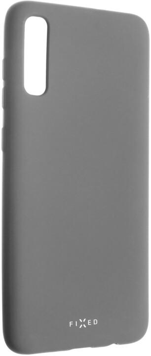 FIXED zadní pogumovaný kryt Story pro Samsung Galaxy A70, šedá