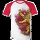 Tričko Game of Thrones - Lannister Painted Raglan (XL)