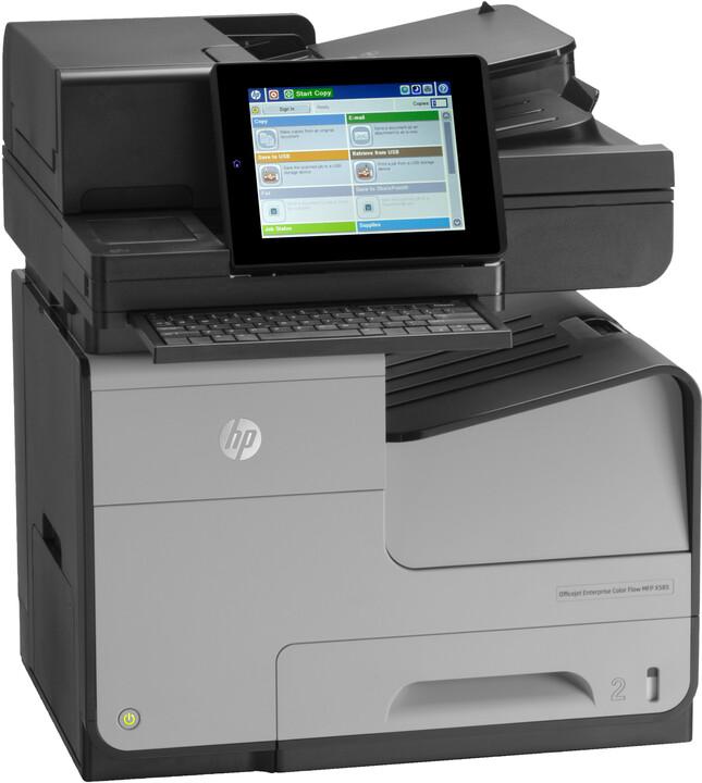 HP Officejet Enterprise Color X585z