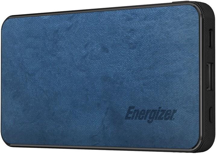 Energizer powerbanka, USB-C, 10000mAh, 5V, 3A, modrá