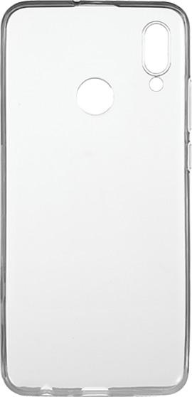 EPICO pružný plastový kryt pro Huawei P Smart (2019) RONNY GLOSS, bílé transparentní