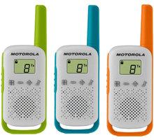 Motorola TLKR T42, triple pack, vysílačky - B4P00811MDKMAW