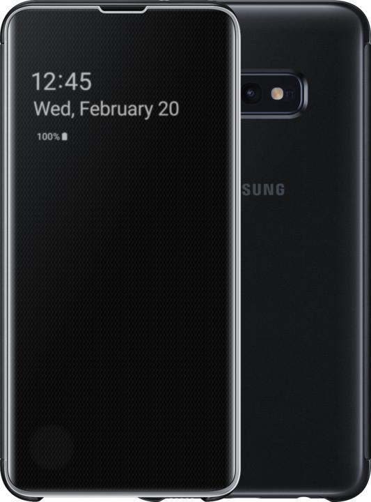 Samsung Clear View flipové pouzdro pro Samsung G970 Galaxy S10e, černá