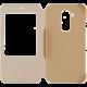 Huawei pouzdro S-View pro G8 (EU Blister), zlatá