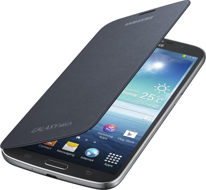 Samsung flipové pouzdro EF-FI920BB pro Galaxy Maga 6.3, černá