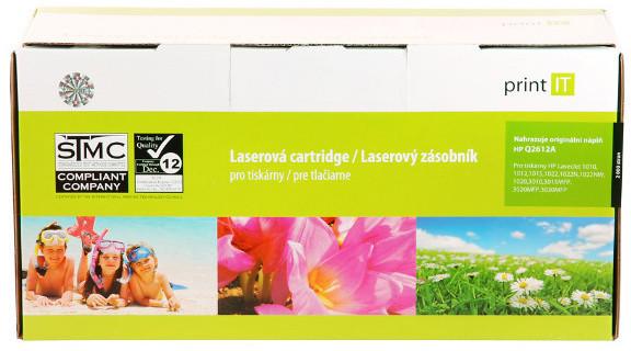 PRINT IT alternativní HP Q2612A LJ 1010/1012/1015 toner