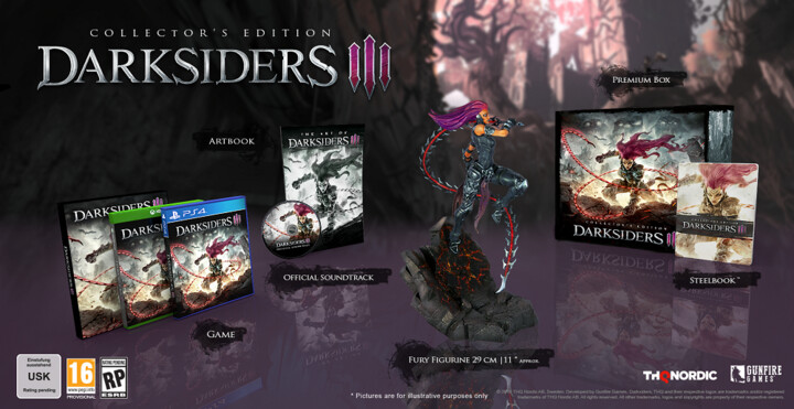 Darksiders 3 - Collector's Edition (Xbox ONE)