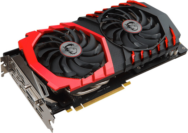 MSI GeForce GTX 1060 GAMING 6G, 6GB GDDR5