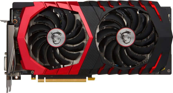 MSI GeForce GTX 1060 GAMING X 3G, 3GB GDDR5