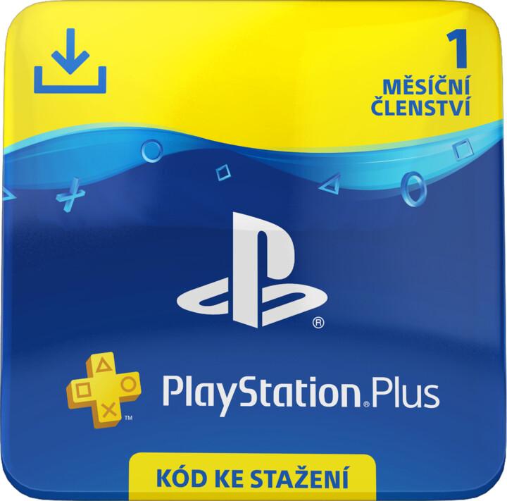 PlayStation Plus - měsíční členství - elektronicky