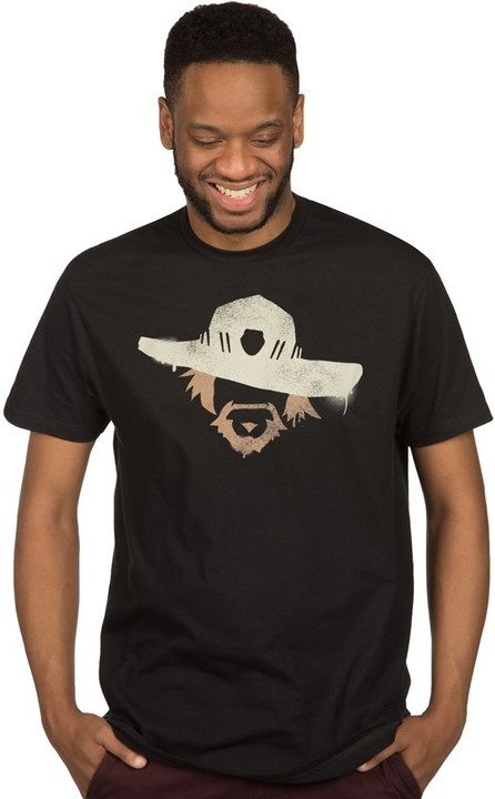 Tričko Overwatch - McCree Spray (US S / EU M)