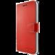 FIXED FIT pouzdro typu kniha pro Apple iPhone X, červené