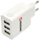 SWISSTEN travel charger smart IC with 3x USB 3,1A Power, bílá