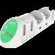 iPega 9187 nabíjecí dock pro ovladač Joy-Con, bílá