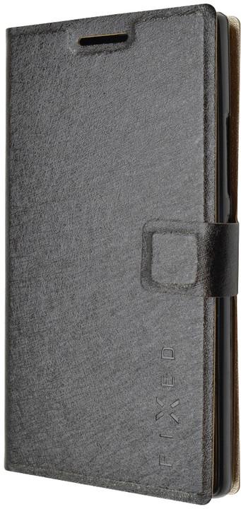 FIXED flipové pouzdro pro Lenovo P70, černá