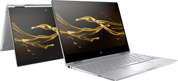 HP Spectre x360 13-ae008nc, stříbrná