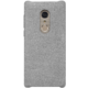 ALCATEL 5 Textile & hard PC Cover kryt, Light Grey