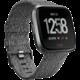 Fitbit Versa - Charcoal Woven  + Voucher až na 3 měsíce HBO GO jako dárek (max 1 ks na objednávku)