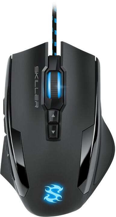 Sharkoon SKILLER SGM1, černá