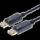 PremiumCord DisplayPort 1.2 přípojný kabel M/M, zlacené konektory, 2m