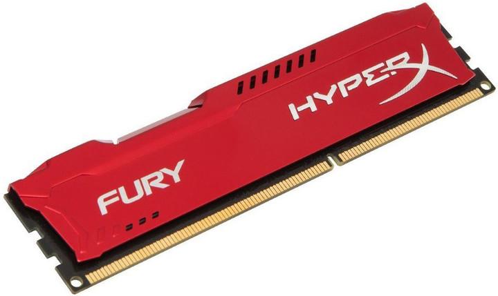 HyperX Fury Red 16GB DDR4 2933