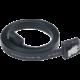 Akasa SATA 3.0, super tenký, 15cm, černá