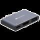 Canyon dokovací stanice, 3 porty, 2x USB-C - USB-A, Thunderbolt 3, 4K HDMI, PD, 100W, šedá