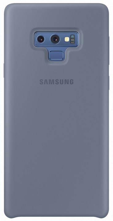 Samsung Galaxy Note 9 silikonový zadní kryt, modrý