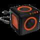 AudioCube - černá, oranžová  + 300 Kč na Mall.cz